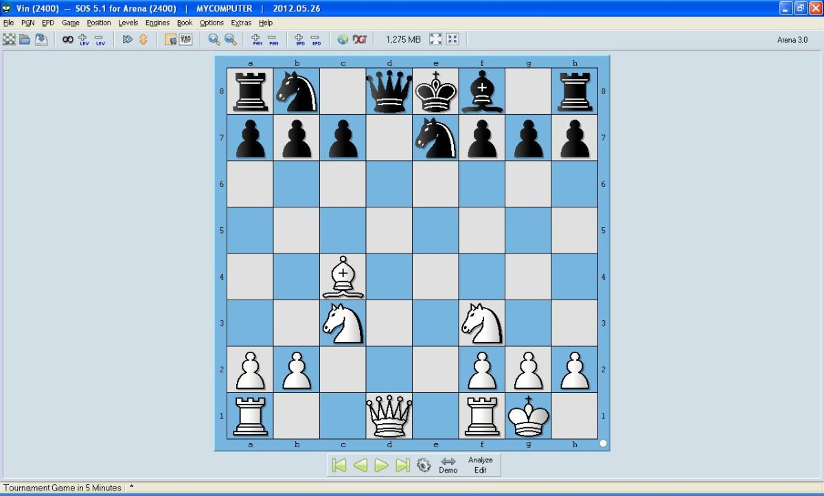It's white's turn to move. Notice how blacks queen is only protected by her  king. If there was a way to deflect the king from protecting her, we could  play ...