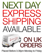 Next Day Express Courier Delivery Available to UK Customers