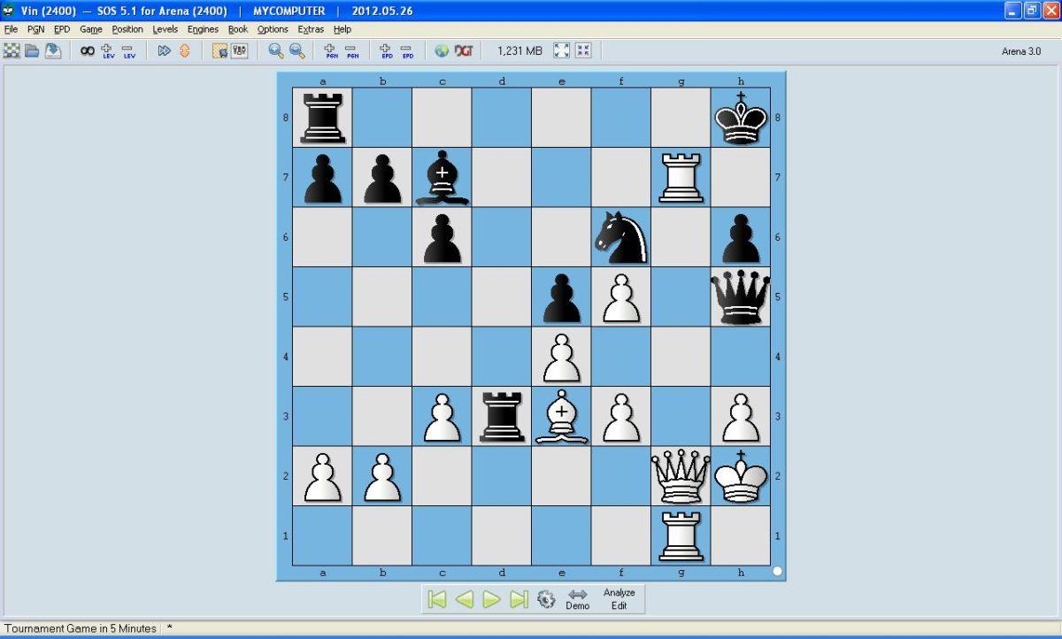 Arena Chess Book
