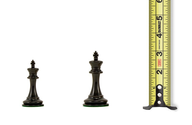 Chess Pieces by Size